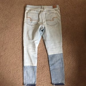 American Eagle Outfitters Jeans - American Eagle Denim X Hi Rise Ripped Jegging